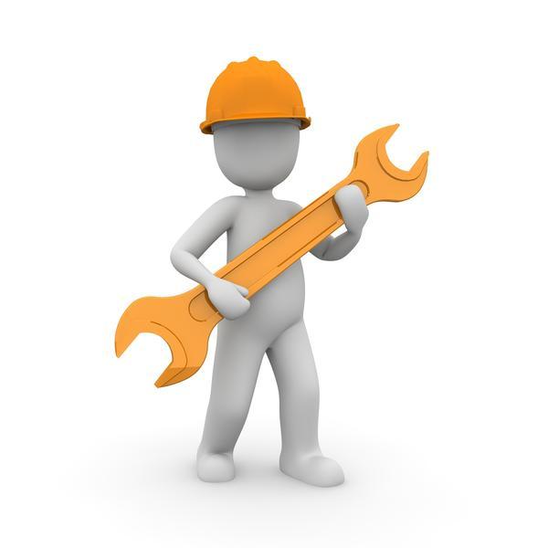 construction guy cartoon
